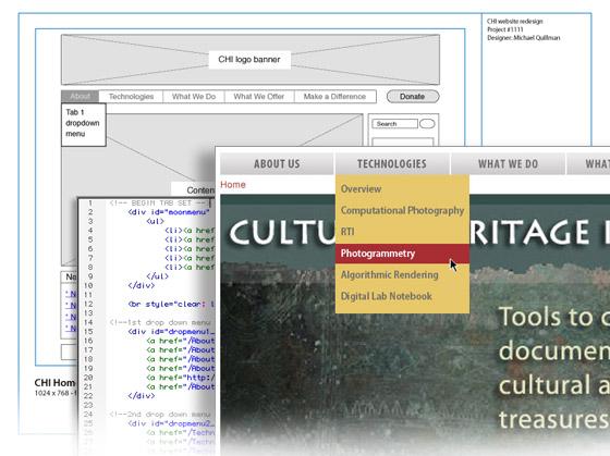 Chi web page design